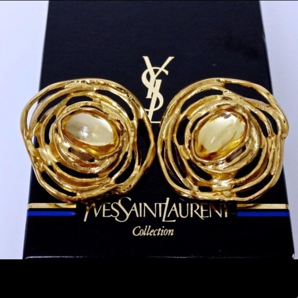 fb91328c6f1 Yves Saint Laurent Jewelry | Ysl Earrings | Poshmark